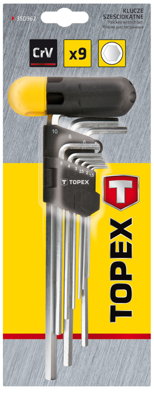 Набор ключей Topex 35d962