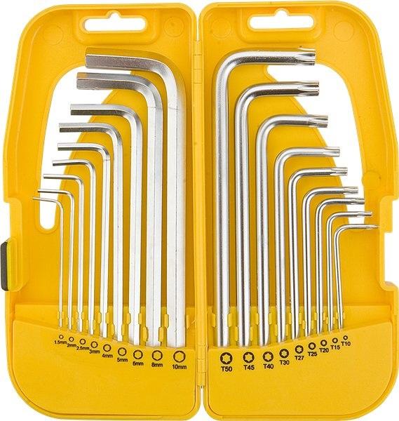 Набор ключей Topex 35d953  набор стамесок topex 09a310