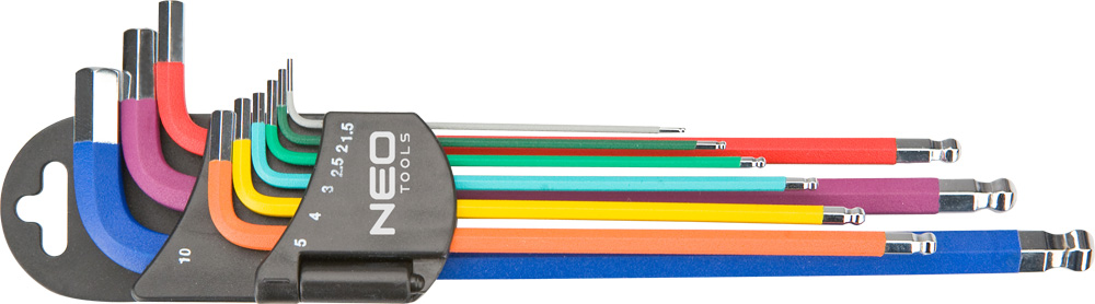 Набор ключей Neo 09-512 набор moser 1886 0100 neo