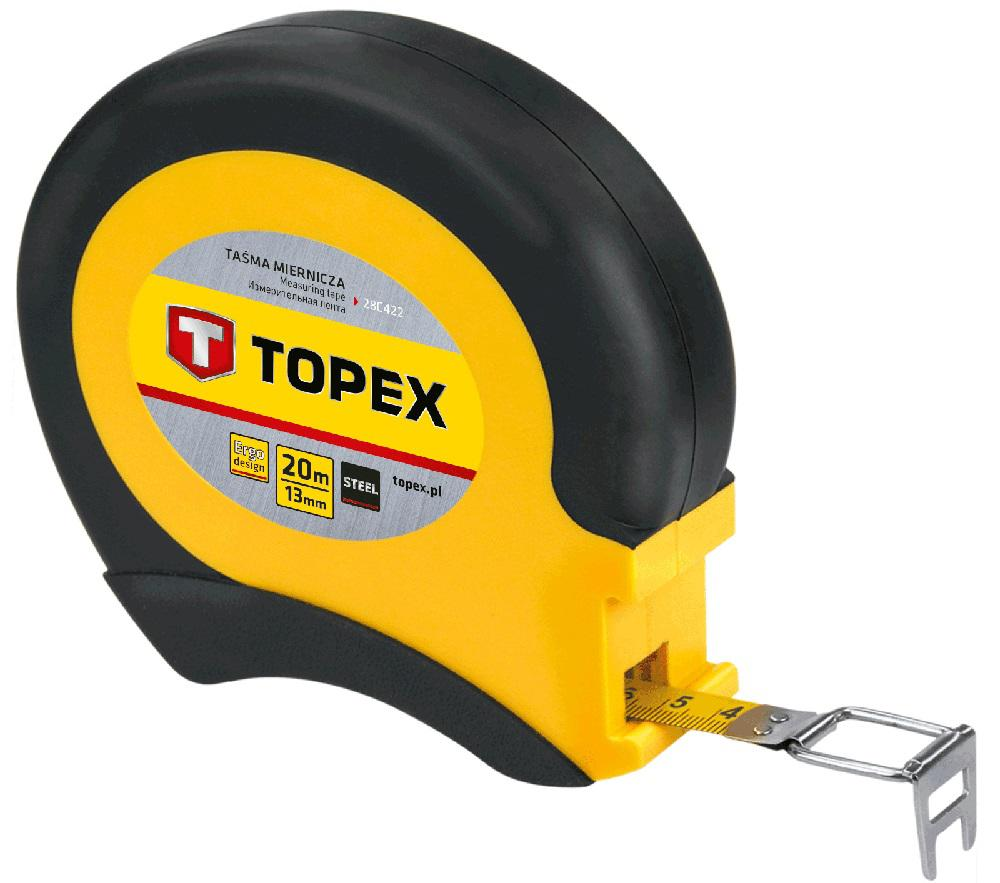 Лента мерная Topex 28c422 цены