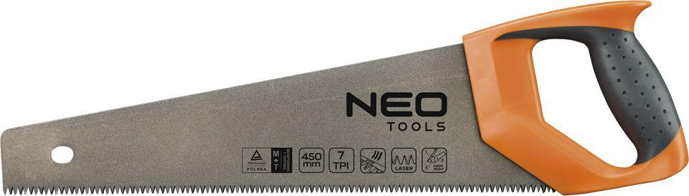 Ножовка Neo 41-011 конструктор дерево кря dk 011 деревенька 5