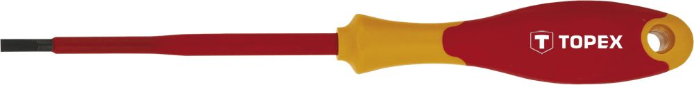 Отвертка диэлектрическая Topex 39d471 отвертка крестовая topex 39d477