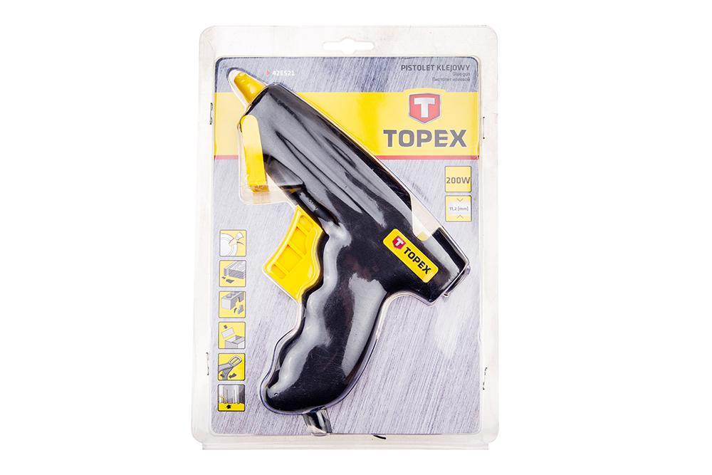 Пистолет клеевой Topex 42e521 клеевой пистолет topex 42e503