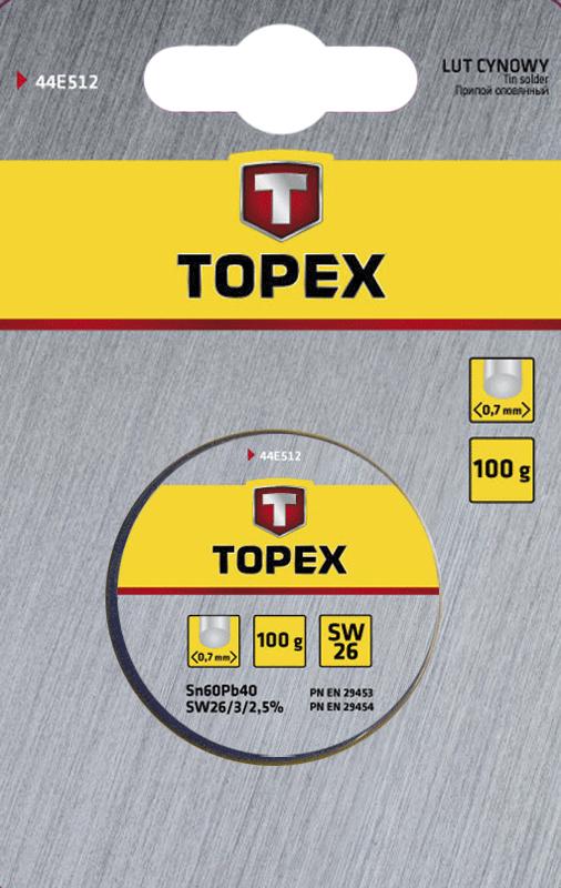 Припой Topex 44e532
