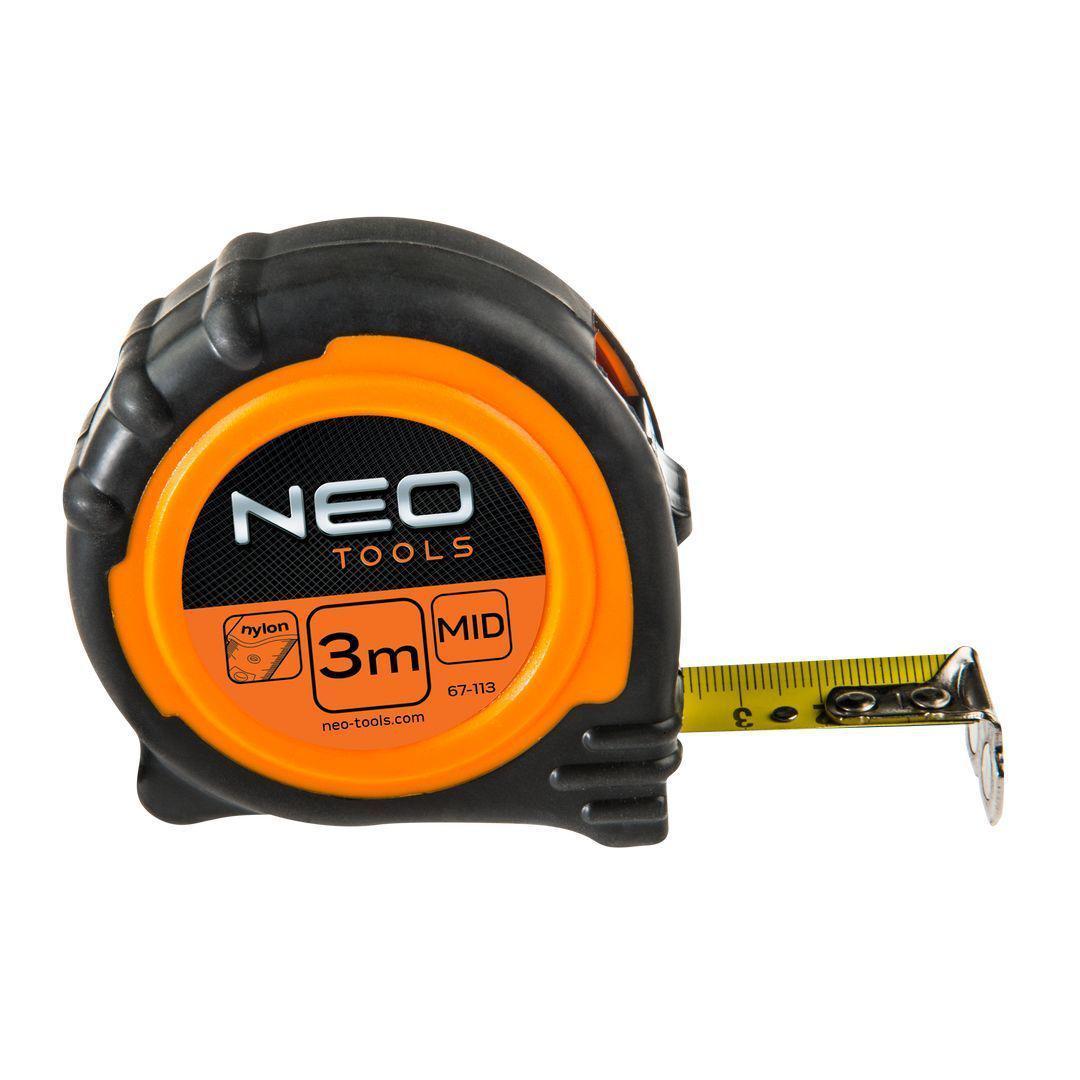 Рулетка Neo 67-113  стальная рулетка neo 67 173