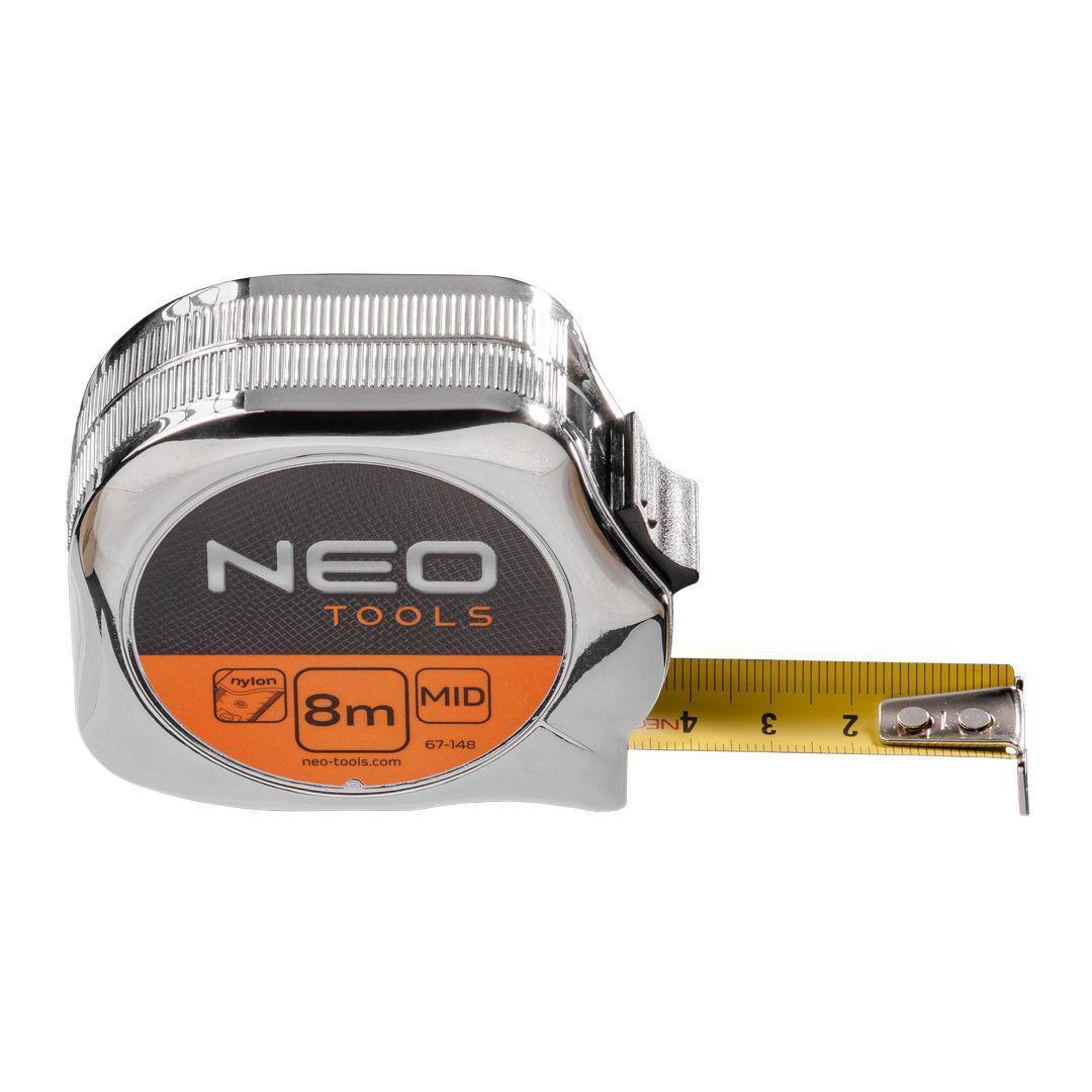 Рулетка Neo 67-148 стальная рулетка neo 67 173