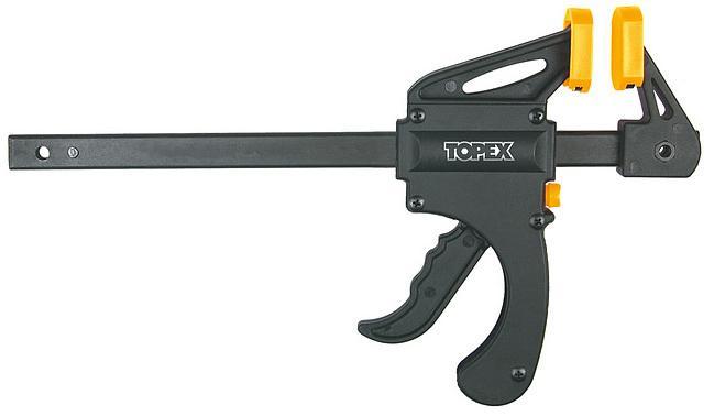 Струбцина быстрозажимная Topex 12a560 струбцина быстрозажимная gross 20803