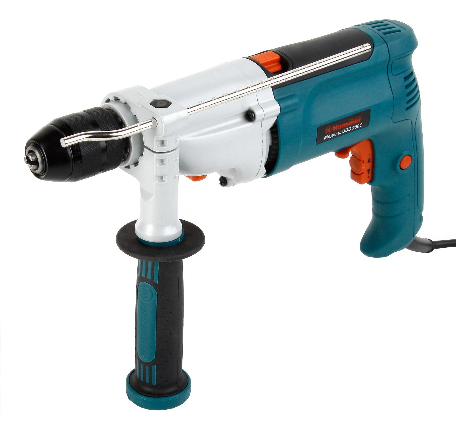 Дрель ударная Hammer Udd900С premium
