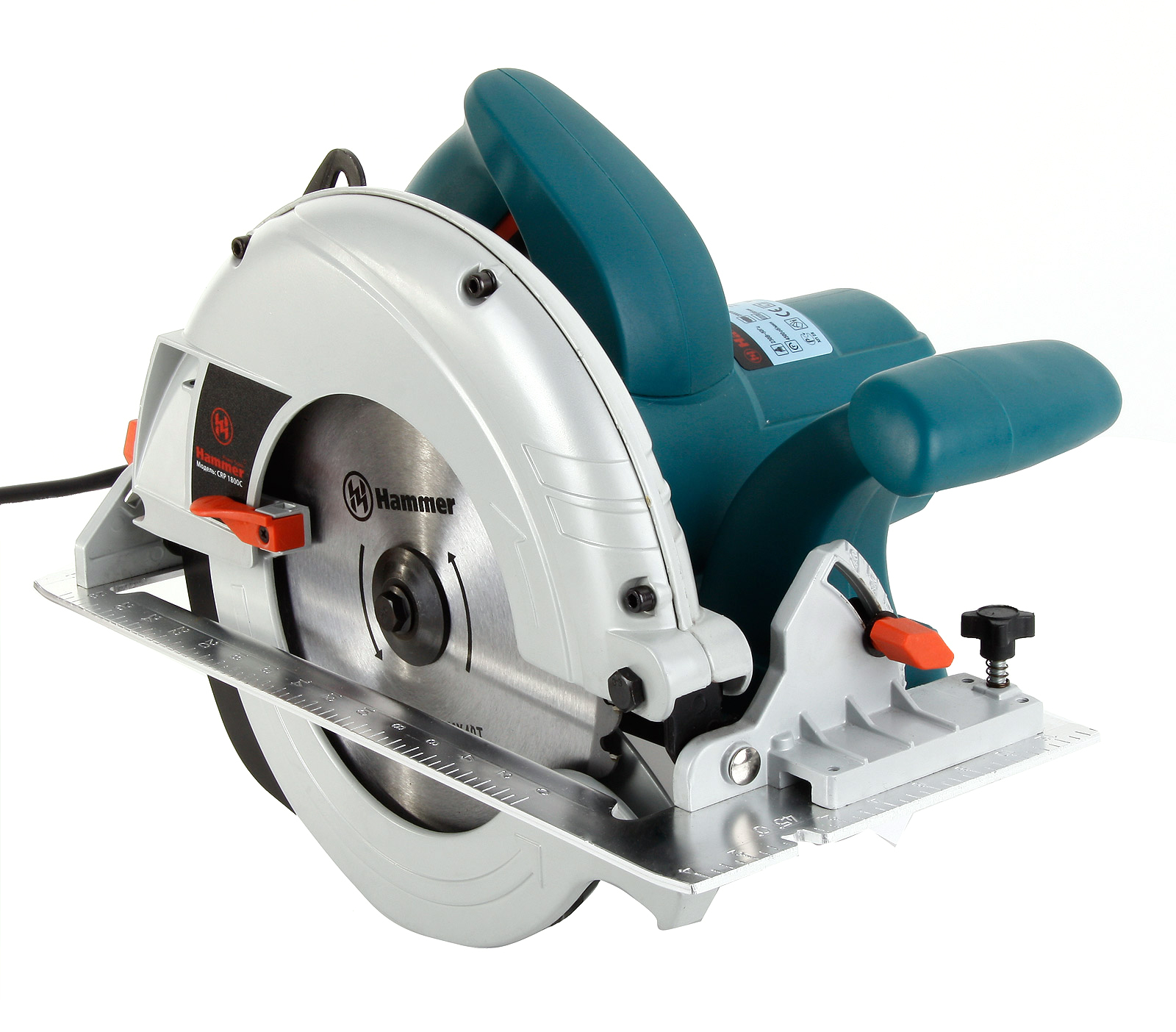 Пила циркулярная Hammer Crp1800c premium  пила циркулярная hammer crp1300а