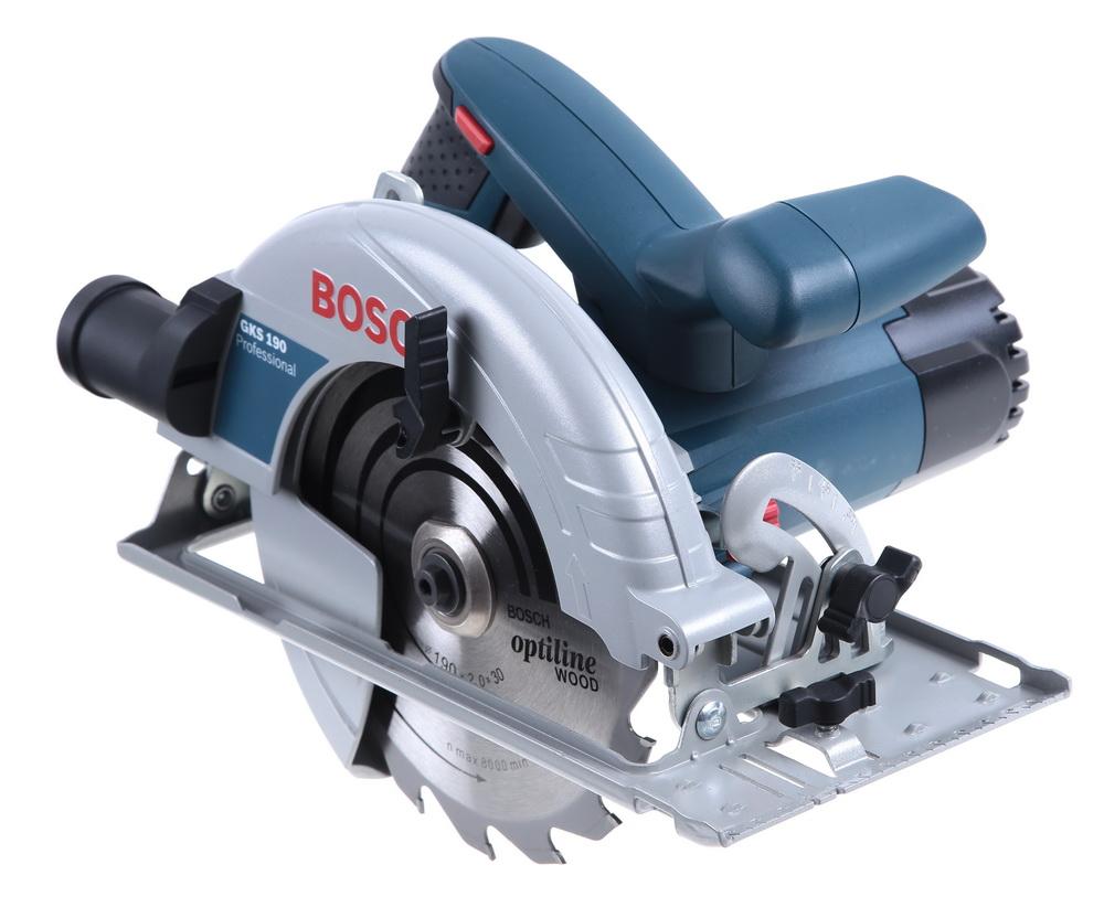 Дисковая пила Bosch Gks 190 (0.601.623.000) пила bosch gks 600