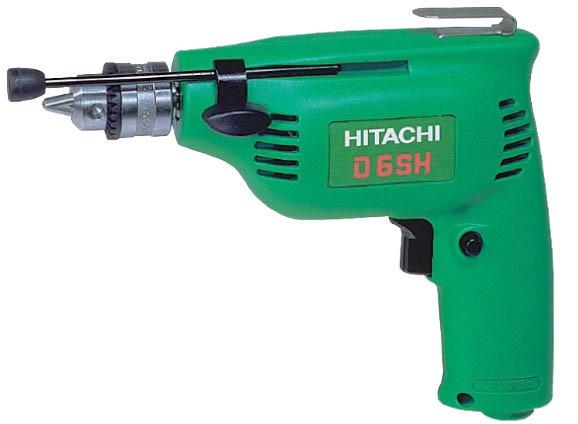 Дрель Hitachi D6sh дрель безударная hitachi d 10vf