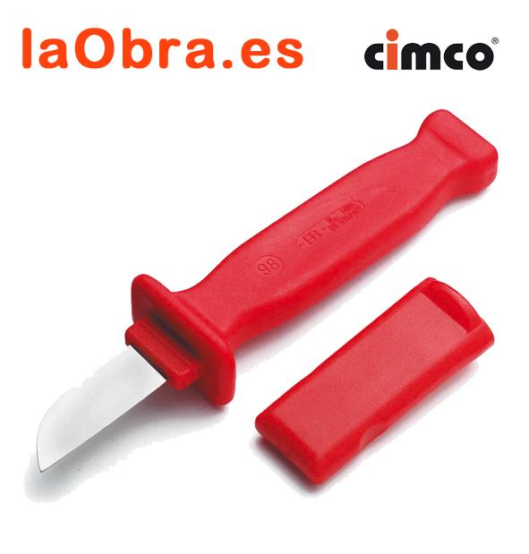Нож строительный Cimco 120042 нож строительный cimco 100772