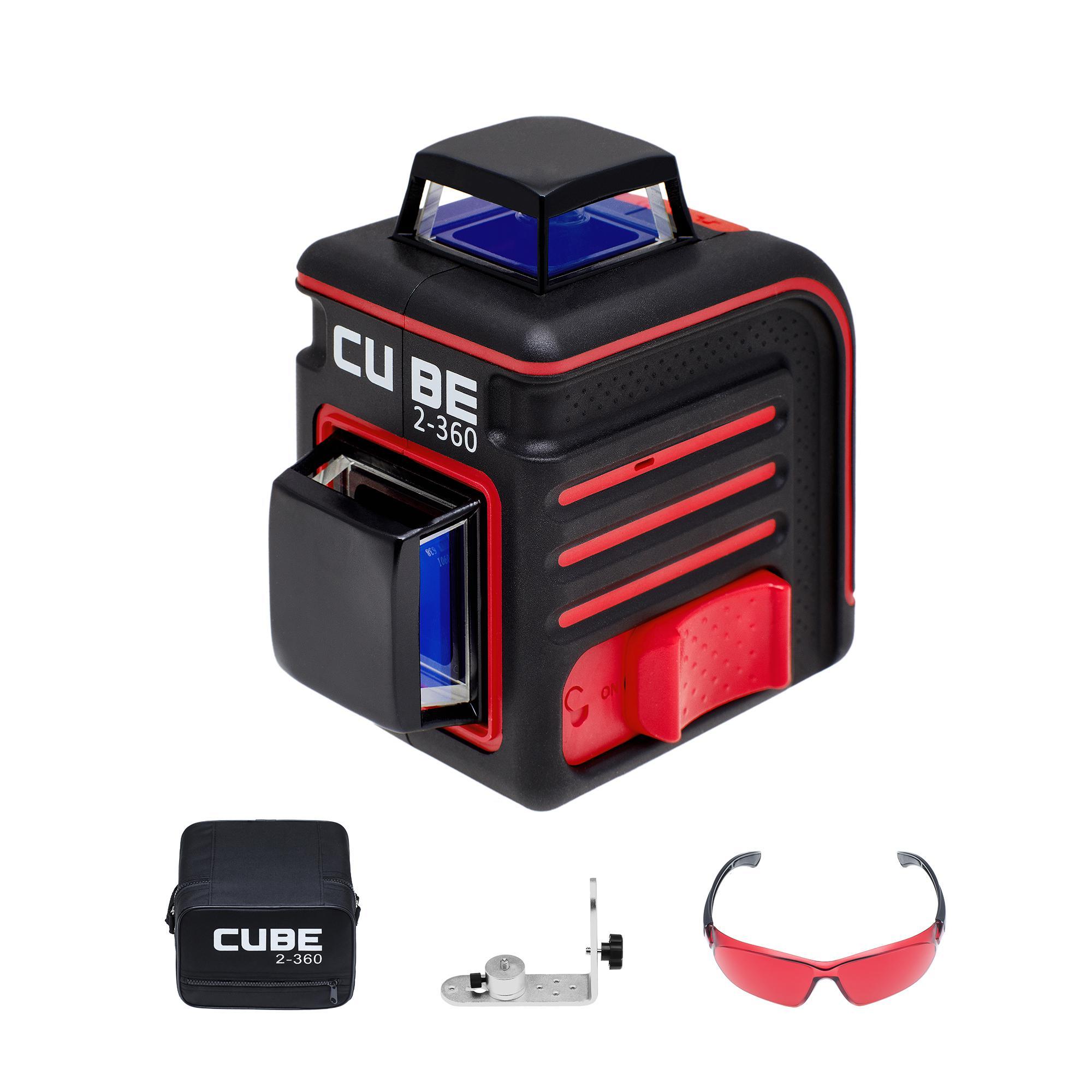 цена на Построитель лазерных плоскостей Ada Cube 2-360 home edition
