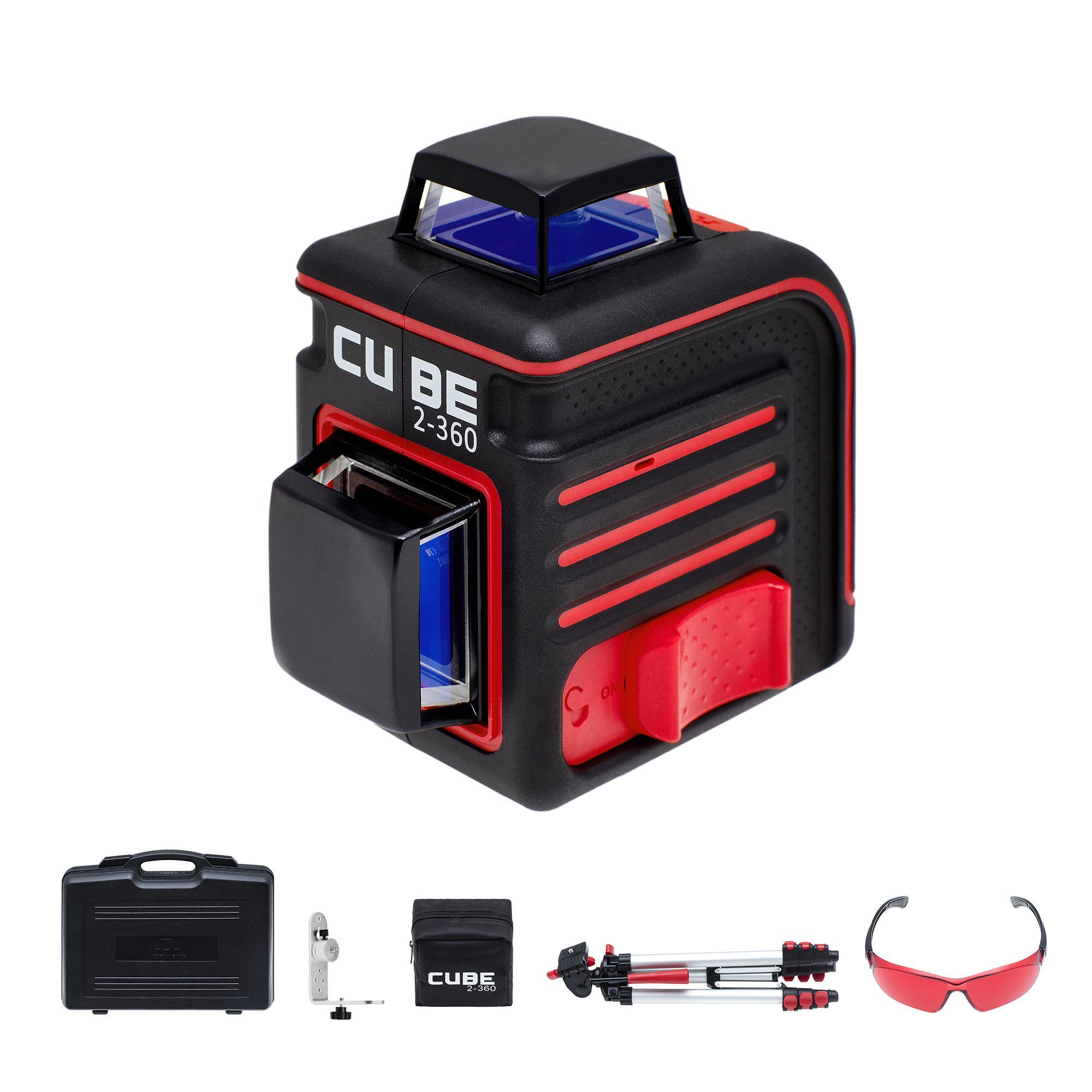 Построитель лазерных плоскостей Ada Cube 2-360 ultimate edition уровень ada cube basic edition a 00341