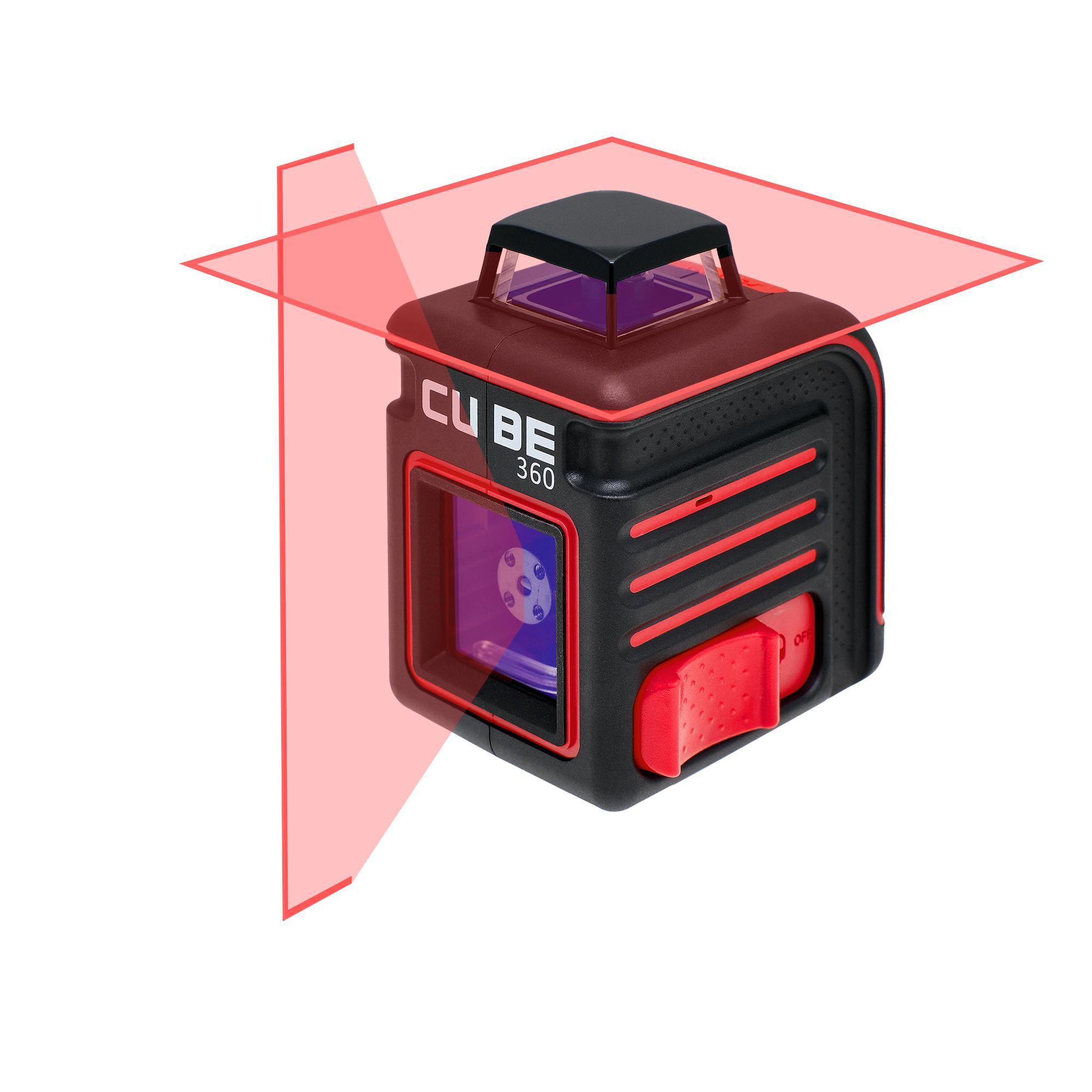 Лазерный построитель плоскостей Ada Cube 360 basic edition лазерный уровень ada cube home edition