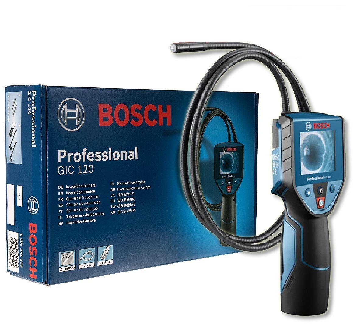 Видеоэндоскоп Bosch Gic 120 (0.601.241.100) от 220 Вольт