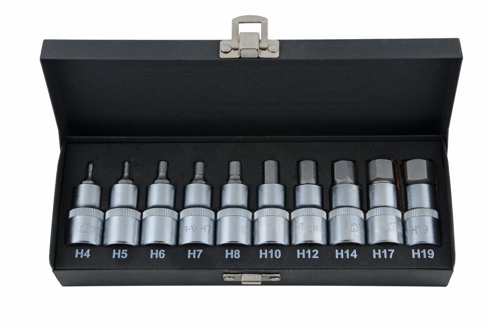 Набор бит Kraft КТ700687 набор инструментов kraft 25 предметов 1 2dr ложемент с сумкой в блистере kt 700617
