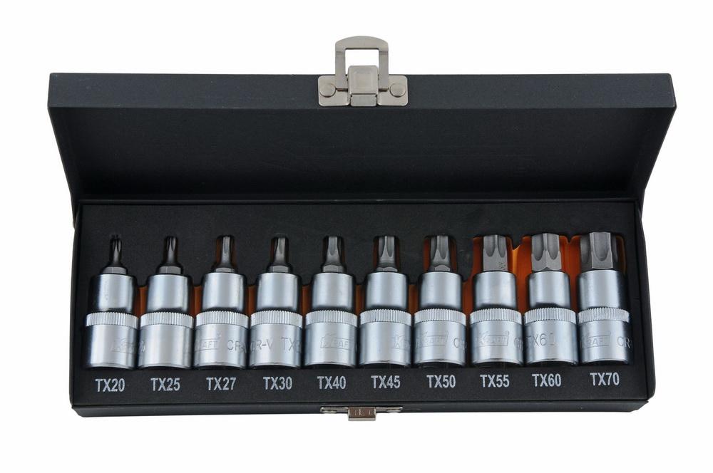 Набор бит Kraft КТ700688 набор инструментов kraft 25 предметов 1 2dr ложемент с сумкой в блистере kt 700617