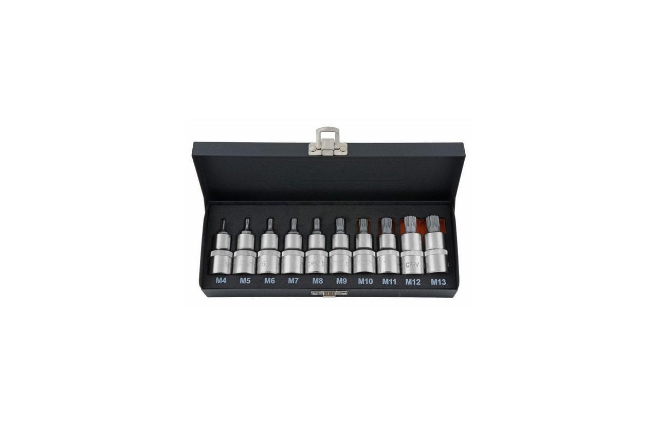 Набор бит Kraft КТ700689 набор инструментов kraft 25 предметов 1 2dr ложемент с сумкой в блистере kt 700617