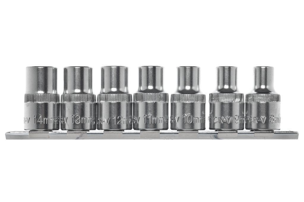 Набор головок Kraft КТ700308 ключ комбинированный kraft 14 мм кт 700508