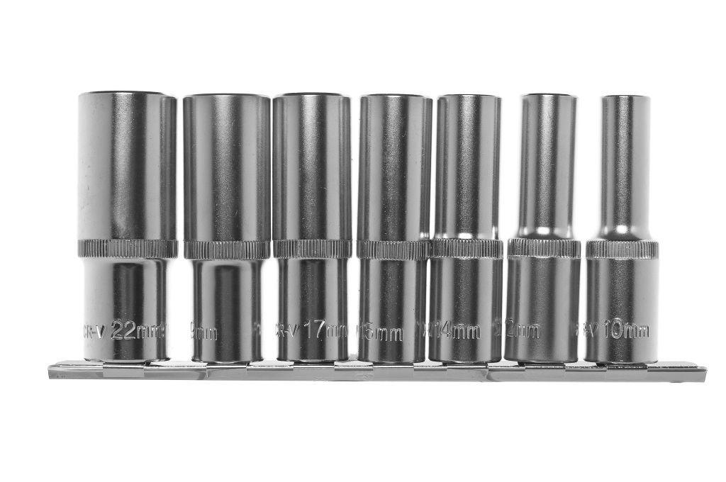 Набор головок Kraft размер 22мм, s 1/2'' (КТ700311) набор головок izeltas h 60мм s 1 2 1114006025