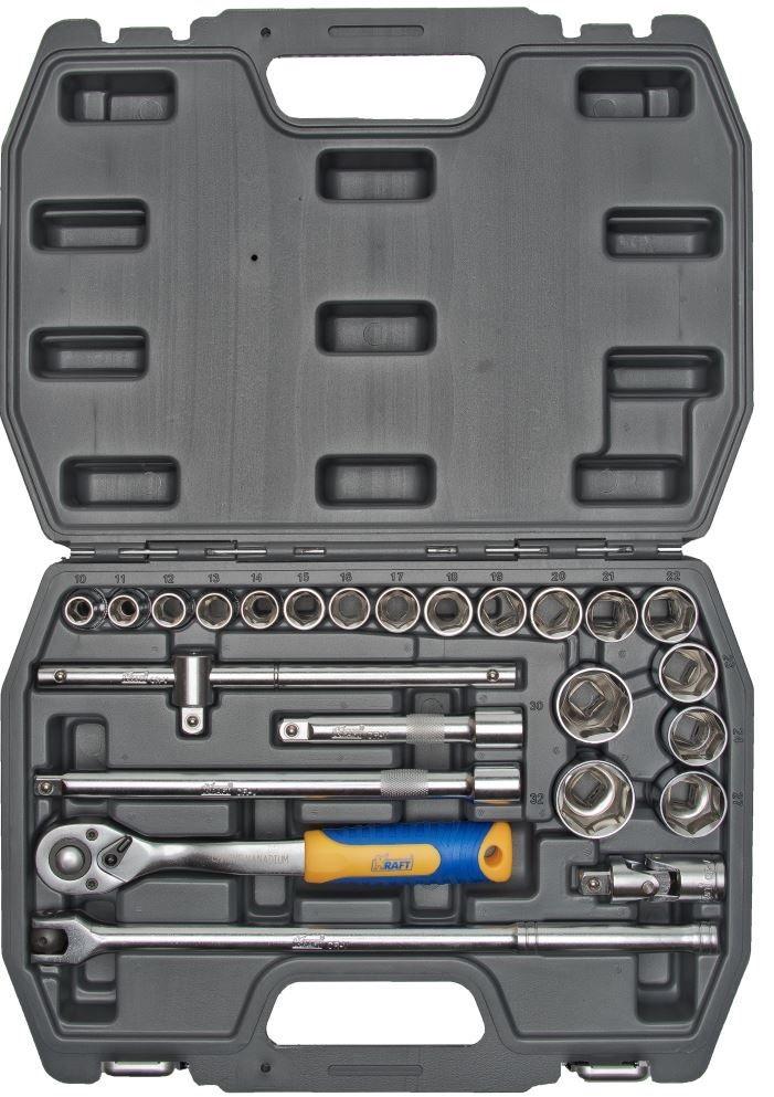 Набор инструментов Kraft КТ 700301 домкрат kraft кт 800026