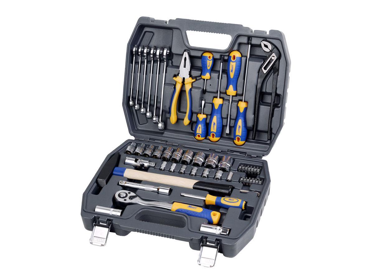 Набор инструментов универсальный Kraft КТ 700303 пассатижи kraft кт 700571