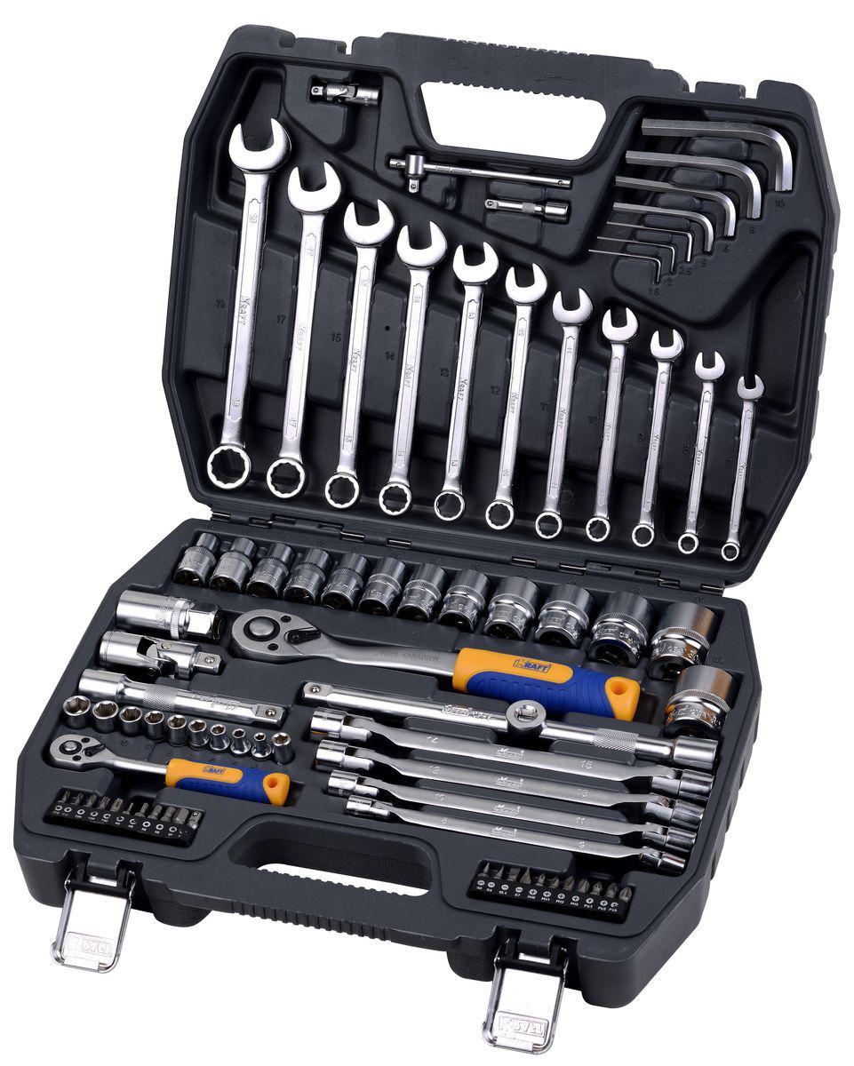 Набор инструментов универсальный Kraft КТ 700304 удлинитель kraft кт 700600
