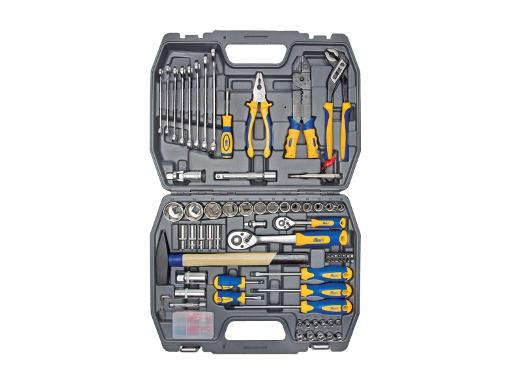 Набор инструментов универсальный KRAFT КТ 700307