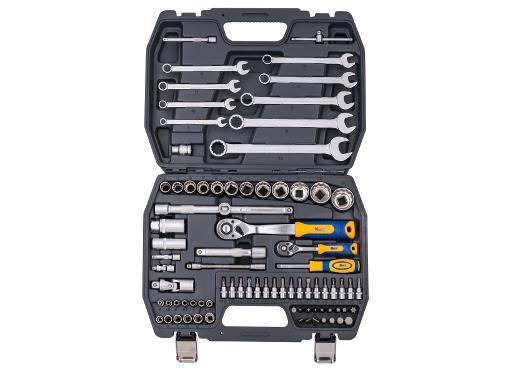 Набор инструментов универсальный KRAFT КТ 700681