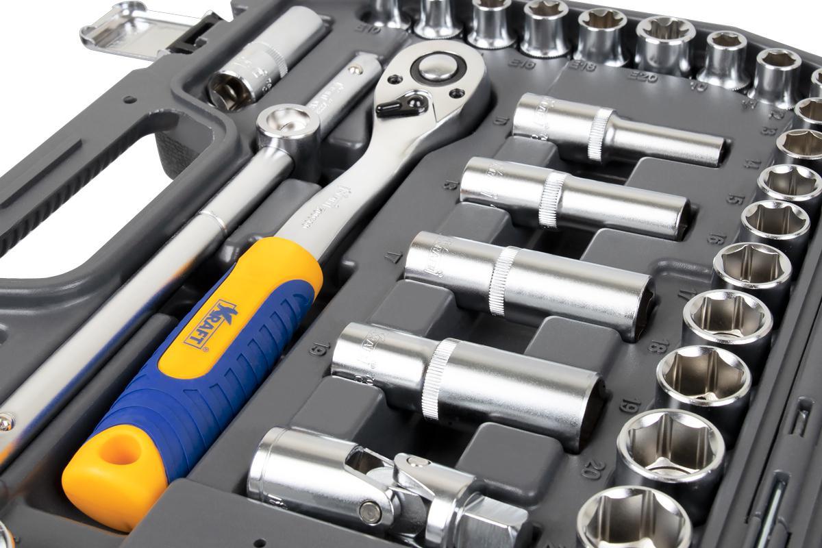 Набор инструментов универсальный Kraft КТ 700683