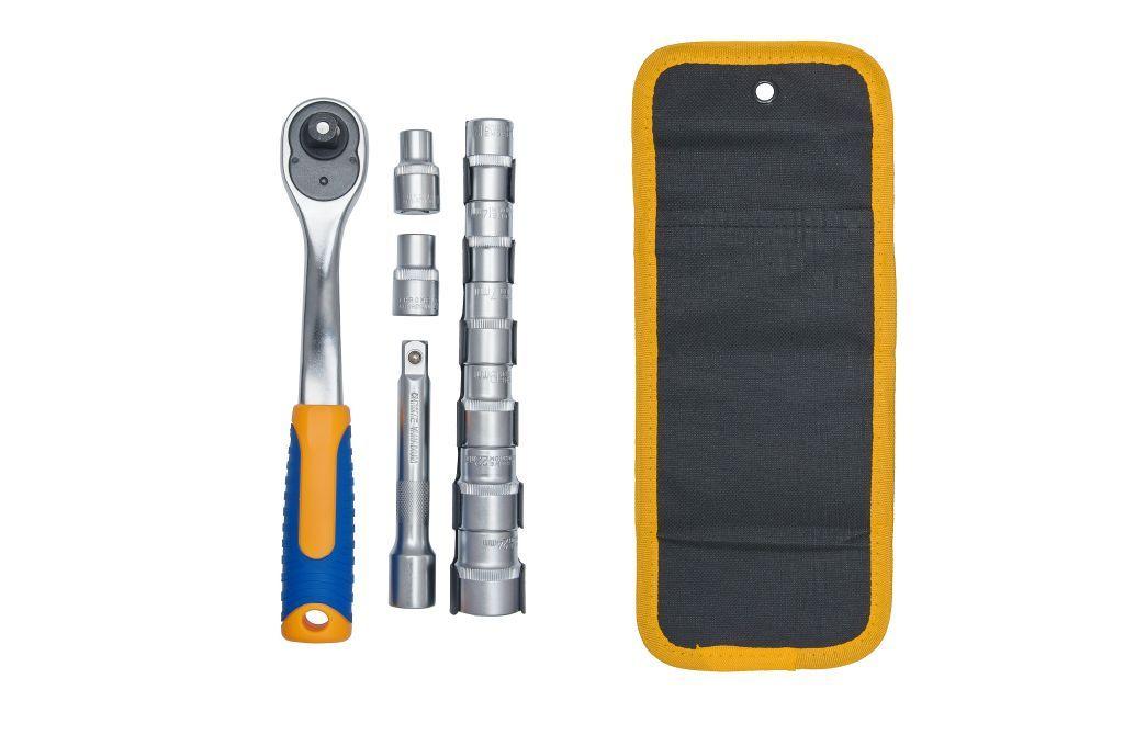 Набор инструментов Kraft КТ700624 домкрат kraft кт 800026