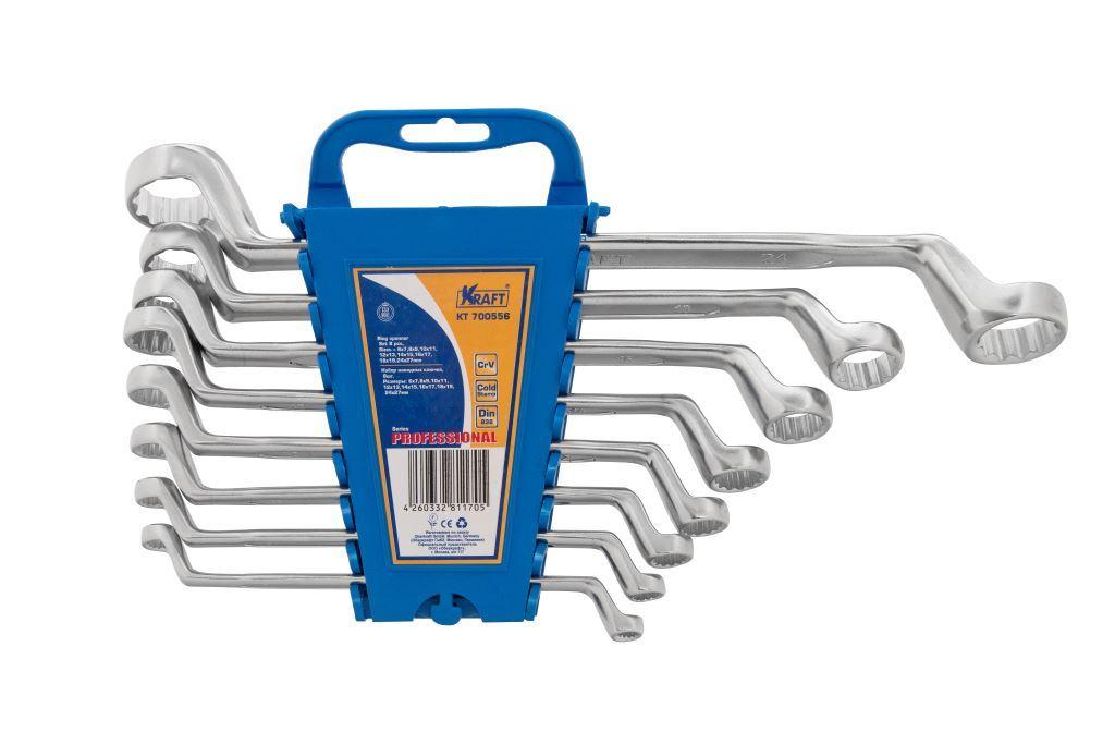 Набор ключей Kraft КТ 700556 (6 - 27 мм) домкрат kraft kt 850000 2т