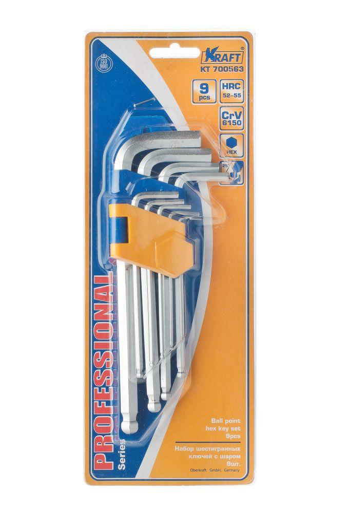Набор ключей Kraft КТ 700563 домкрат kraft кт 800026