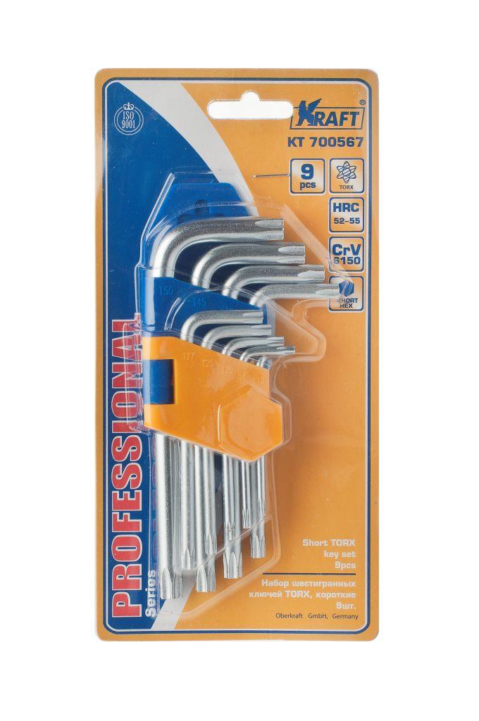 Набор ключей Kraft КТ 700567 домкрат kraft кт 800026