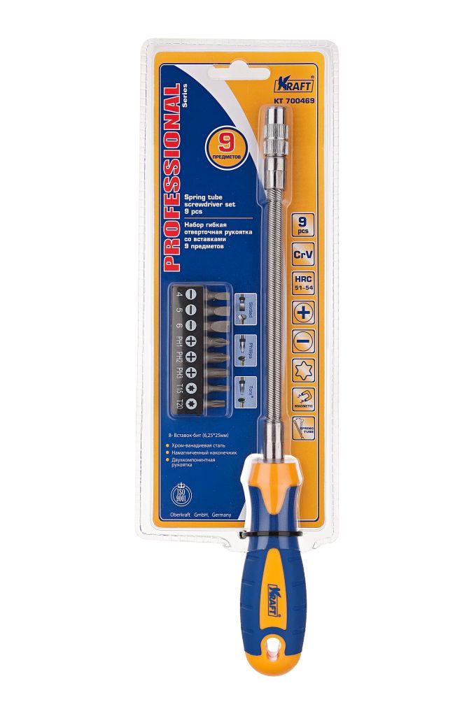 Отвертка Kraft КТ 700469 домкрат kraft кт 800012