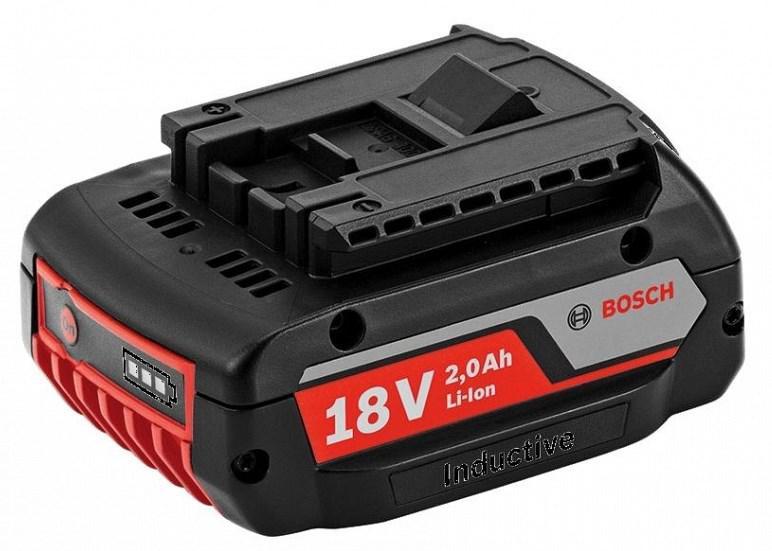 Аккумулятор Bosch Gba 18 v2.0 А*ч (1.600.a00.3nc) базовый комплект bosch gba 10 8v 2 5ah ow b gal 1830 w 1600a00j0f