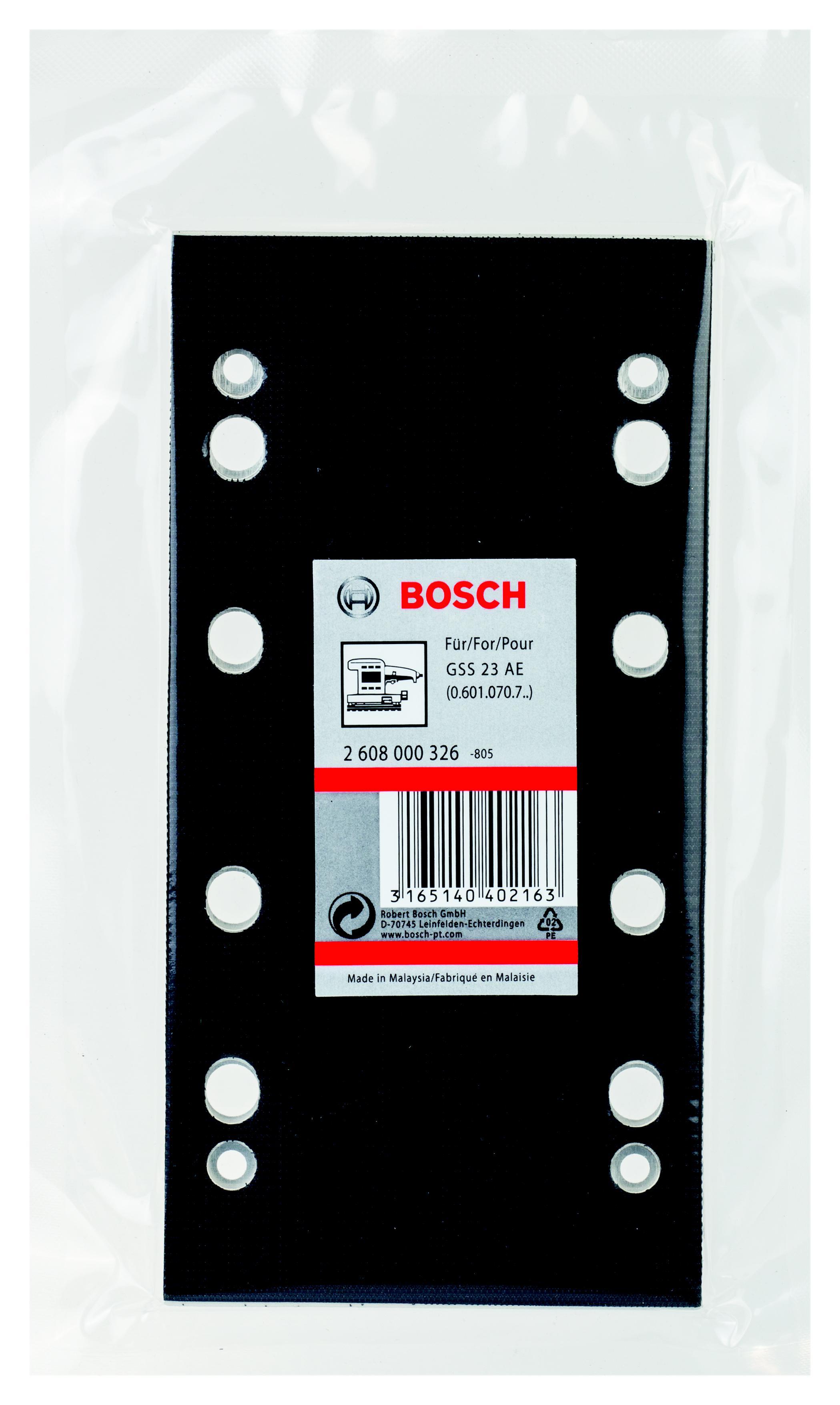 Подошва, основание, опора Bosch 2608000326 цена