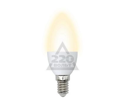 Лампа светодиодная VOLPE LED-C37-6W/WW/E14/FR/DIM/O 10шт