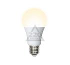 Лампа светодиодная VOLPE LED-A60-12W/WW/E27/FR/O 10шт