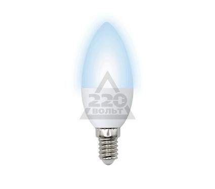 Лампа светодиодная VOLPE LED-C37-6W/NW/E14/FR/O 10шт
