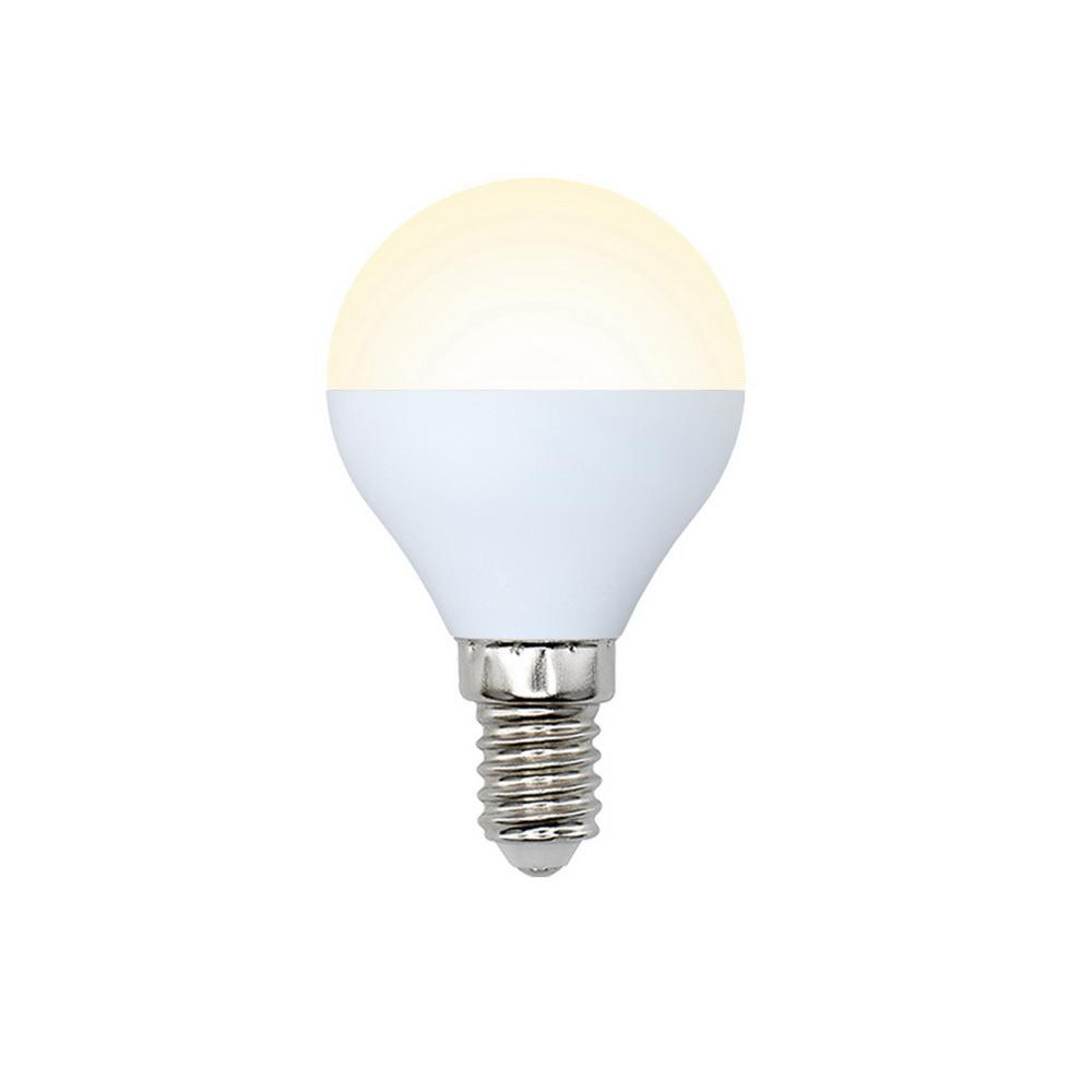 Лампа светодиодная Volpe Led-g45-6w/ww/e14/fr/o 10шт лампа светодиодная volpe led g45 6w nw e14 fr s 10шт
