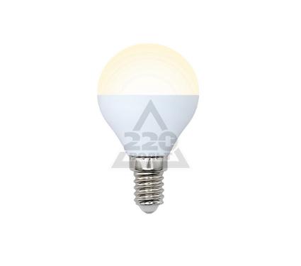 Лампа светодиодная VOLPE LED-G45-6W/WW/E14/FR/O 10шт
