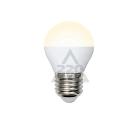 Лампа светодиодная VOLPE LED-G45-6W/WW/E27/FR/O 10шт