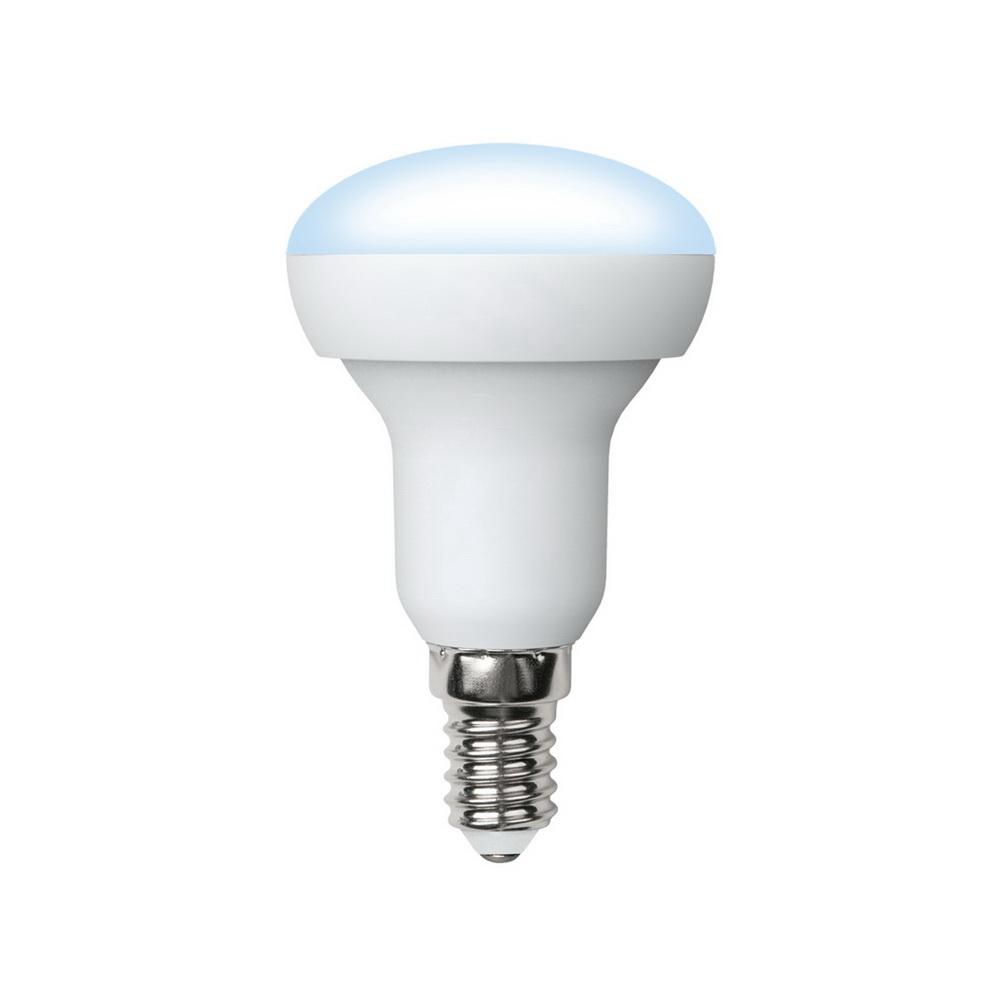 Лампа светодиодная Volpe Led-r50-6w/nw/e14/fr/o 10шт лампа светодиодная volpe led g45 6w nw e14 fr s 10шт