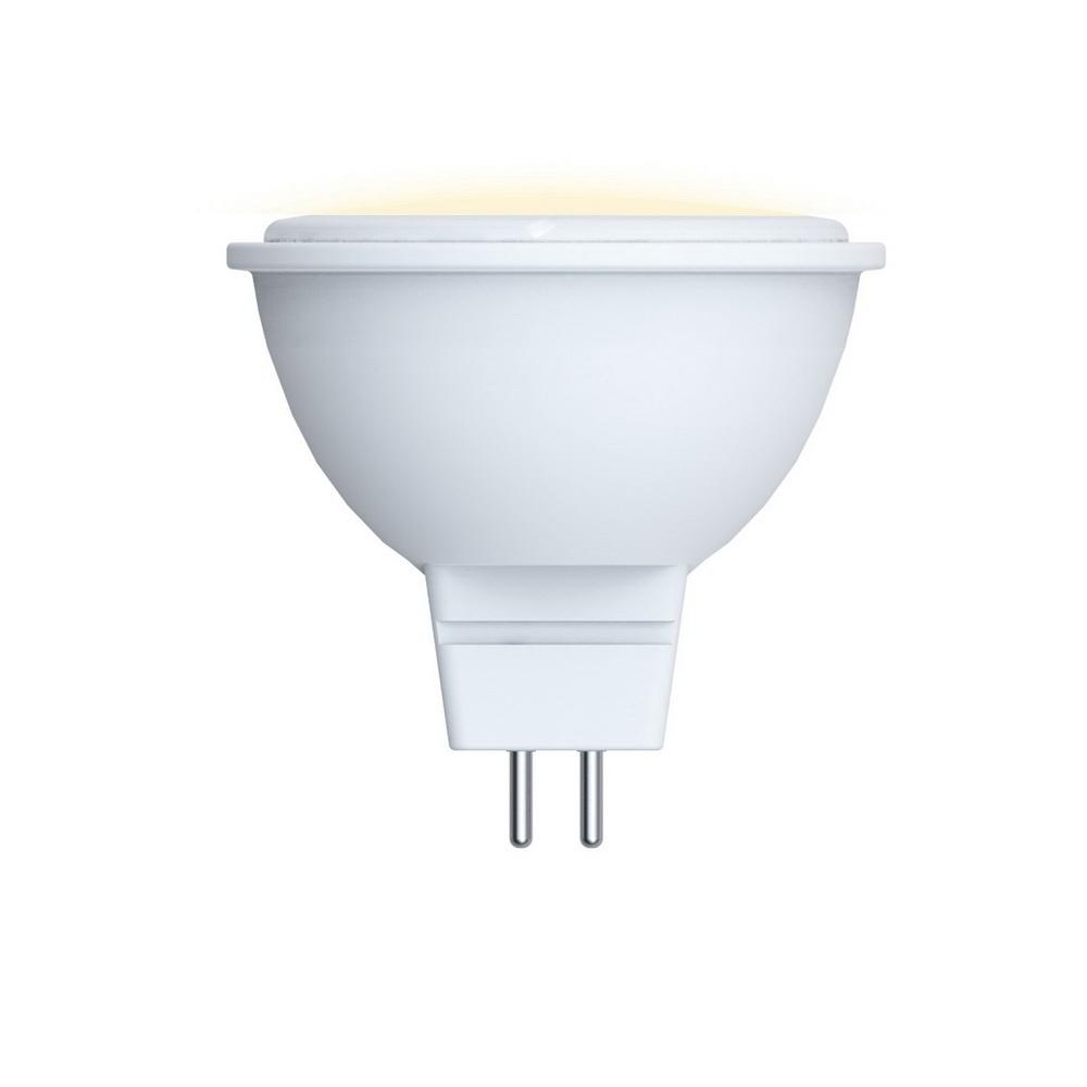 Лампа светодиодная Volpe Led-jcdr-5w/ww/gu5.3/o 10шт лампа светодиодная 07912 gu5 3 5w 3000k jcdr матовая led jcdr 5w ww gu5 3 fr alp01wh