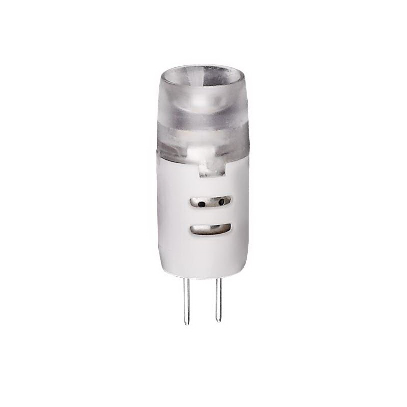Лампа светодиодная VolpeЛампы<br>Тип лампы: светодиодная,<br>Форма лампы: капсульная,<br>Цвет колбы: белая,<br>Тип цоколя: G4,<br>Напряжение: 12,<br>Мощность: 2,<br>Цветовая температура: 3000,<br>Цвет свечения: нейтральный<br>