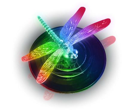 Светильник уличный UNIEL USL-S-106/PT075 Magic dragonfly