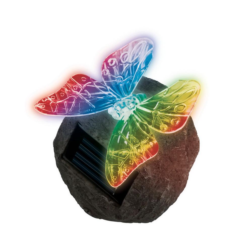 Светильник уличный Uniel Usl-s-116/rt085 butterfly on rock