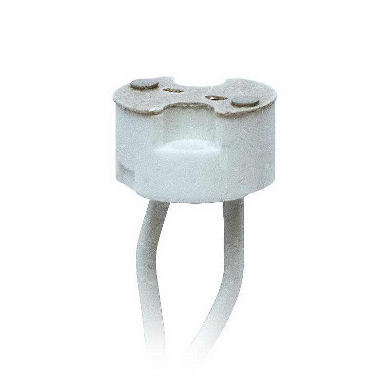 Патрон Uniel Ulh-gu4/gu5.3-ceramic-15cm